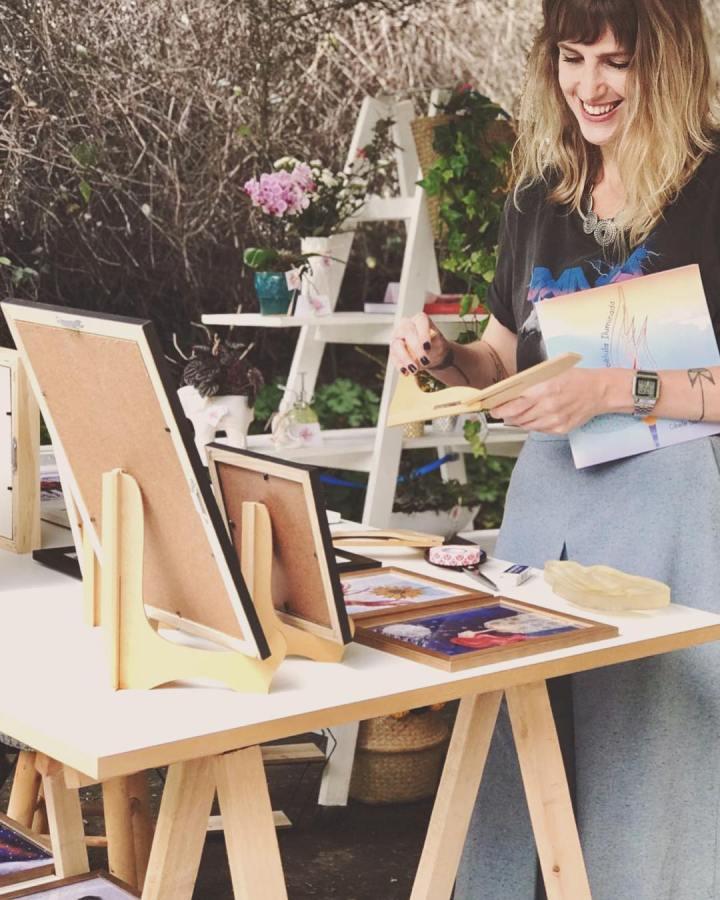Artista em Pauta: Cibele Santarosa do Coisas deSaturno