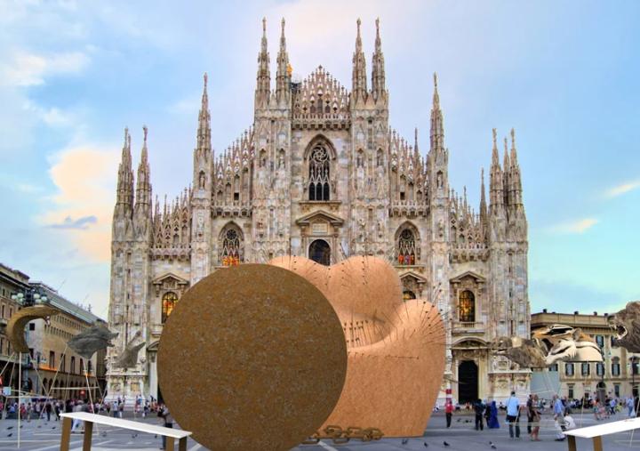 A mais famosa poltrona de Gaetano Pesce  protagoniza uma das produções mais esperadas para a semana do design deMilão