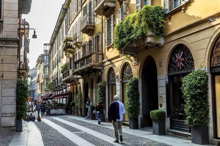 O charmoso bairro de Brera, em Milão, se destaca na Semana doDesign
