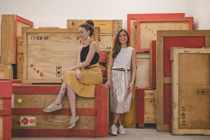 Artistas em Pauta: Juliana e Lívia do GomaAteliê