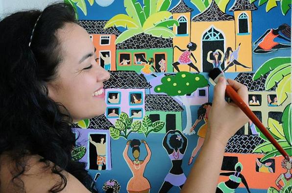 Artista em Pauta: TaniaAzevedo